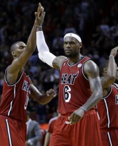 Jornada de altos vuelos en la NBA