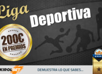 Liga Deportiva: Participa y gana hasta 100€ GRATIS